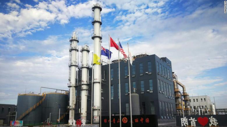 Prvý komerčný závod spoločnosti LanzaTech v Číne.