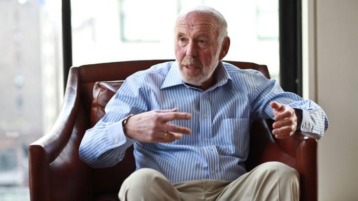Investor James Simons.