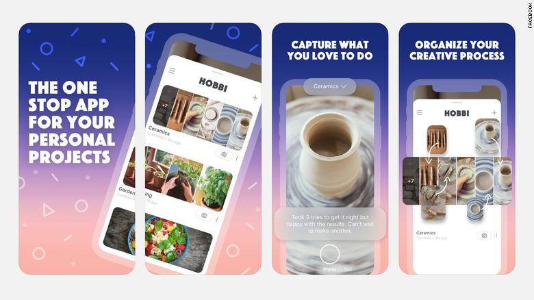 Zdá sa, že najnovšia aplikácia Facebooku čerpá inšpiráciu od Pinterestu.