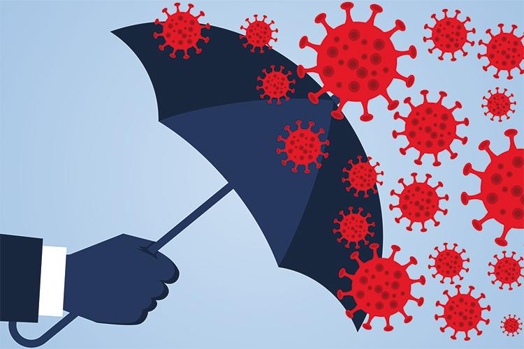 Ochrana pred pandémiou koronavírusov.