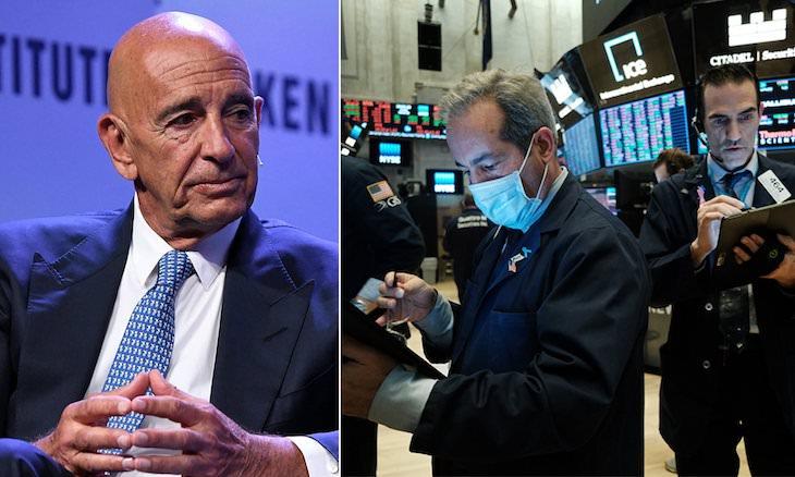 Investor do nehnuteľností Tom Barrack (vľavo).