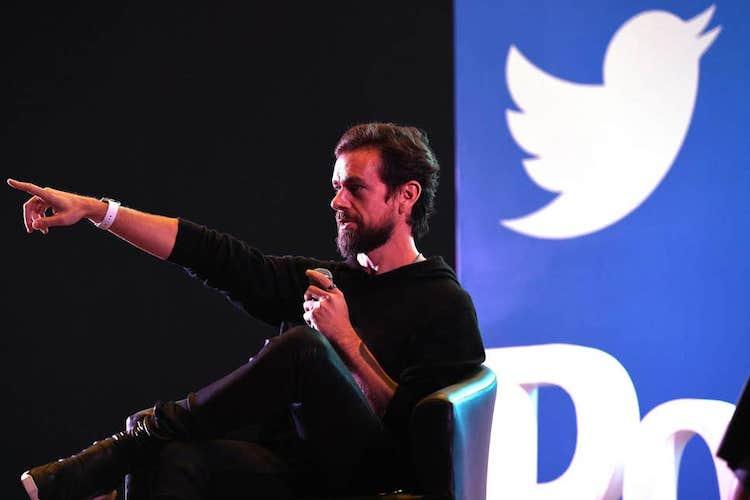 Jack Dorsey - CEO spoločnosti Twitter.
