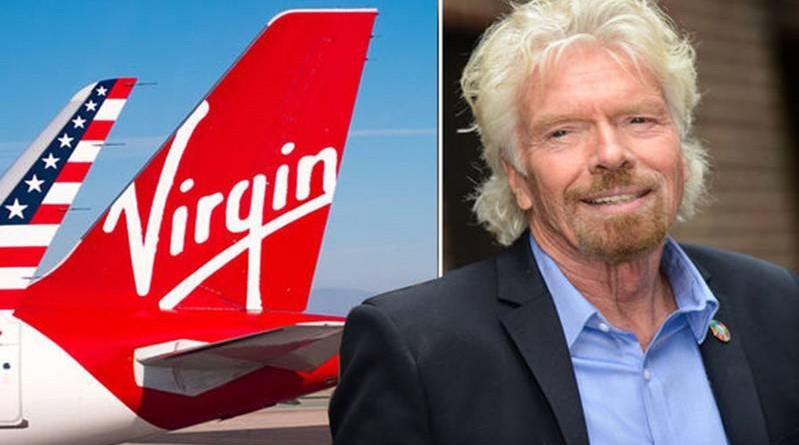 Miliardár Richard Branson.