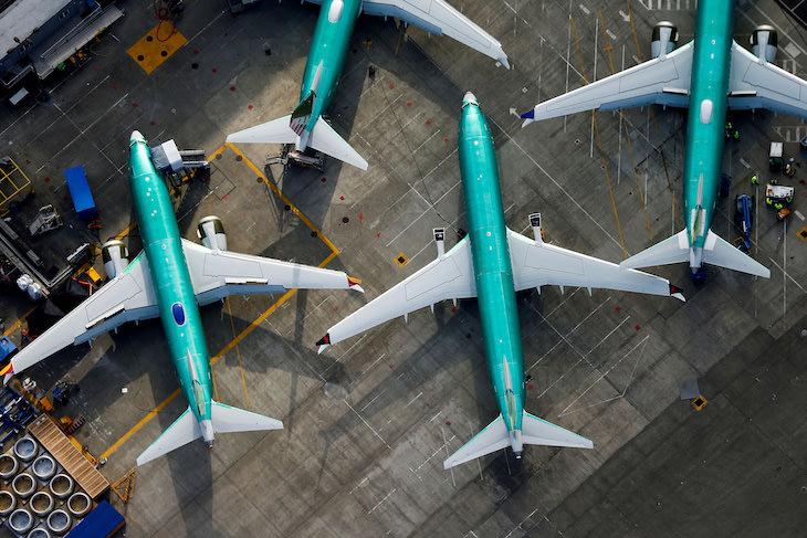 letecké spoločnosti uzemnili svoje stroje z dôvodu pandémie.