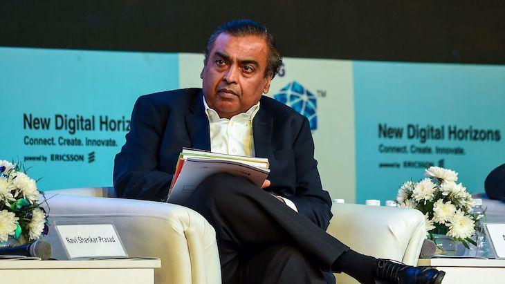 Najbohatší človek Ázie - Mukesh Ambani.