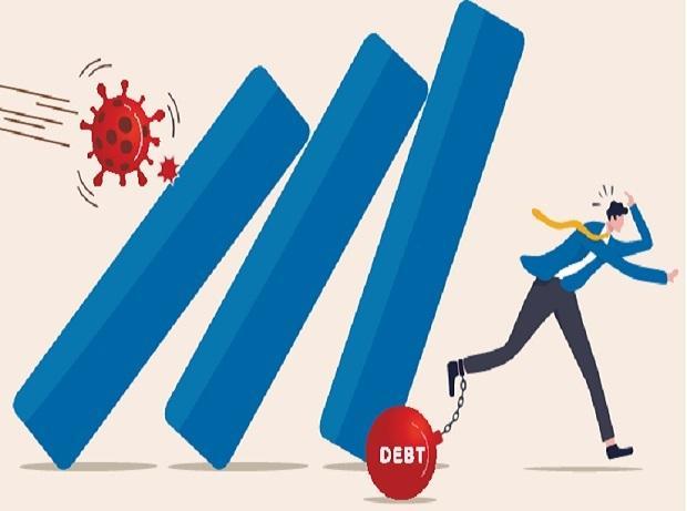 IIF, ktorá zastupuje celosvetové banky a finančné inštitúcie, uviedla, že pomer dlhu k HDP v prvom štvrťroku vyskočil o viac ako 10 percentuálnych bodov, čo je najväčší rekordný štvrťročný nárast.