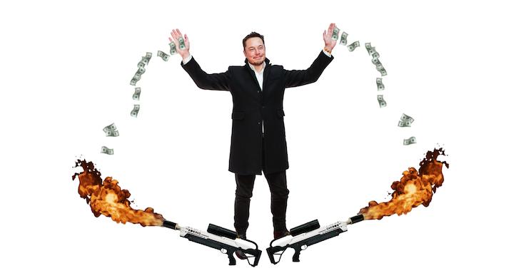 Majetok Elona Muska v roku vzrástol o