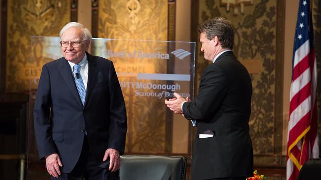 Miliardár a investor Warren Buffett.