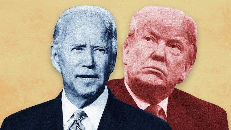 Joe Biden vs. Donald Trump.