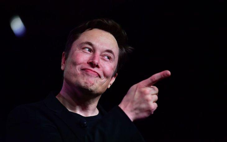 Miliardár, spoluzakladateľ a CEO spoločnosti Tesla - Elon Musk.