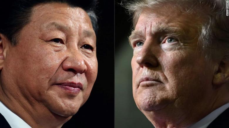 Prezident USA a Číny.