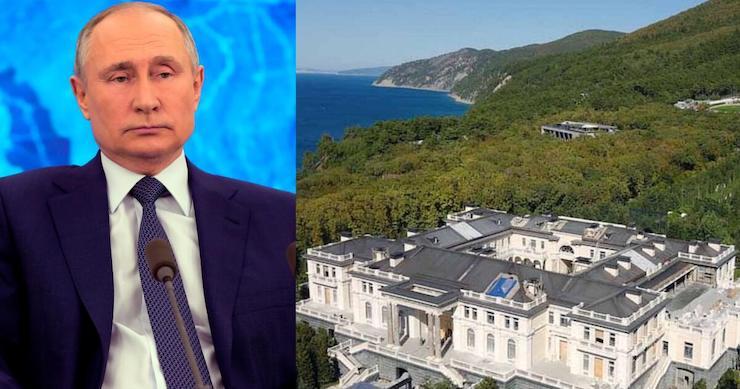 """""""Putinov palác."""""""