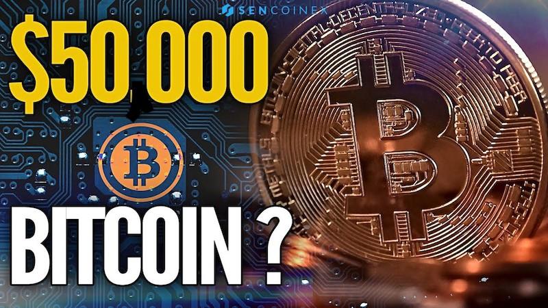 Prekročí Bitcoin cenu 50 000 dolárov?