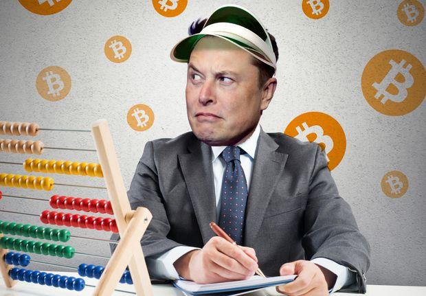 Elon Musk a Bitcoin.