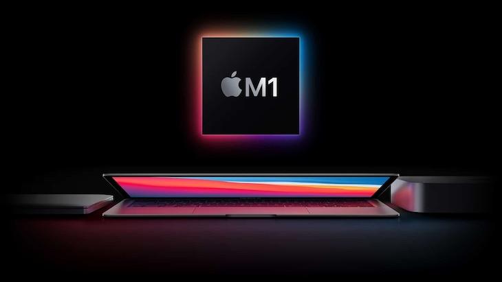 Čip od spoločnosti Apple - M1.