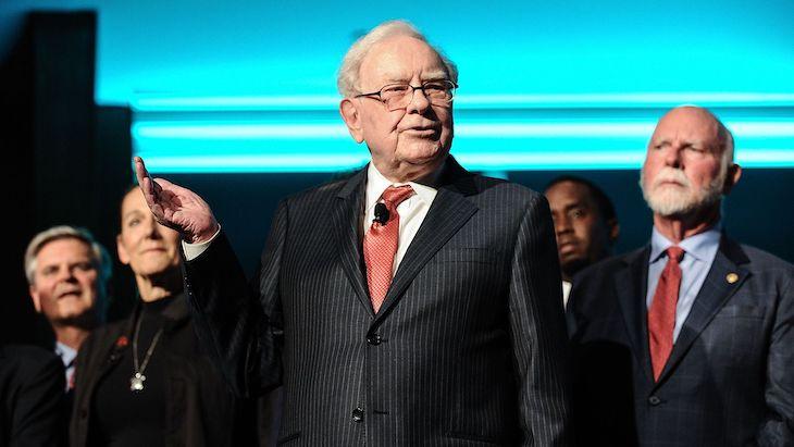 Warren Buffett z Berkshire Hathaway.