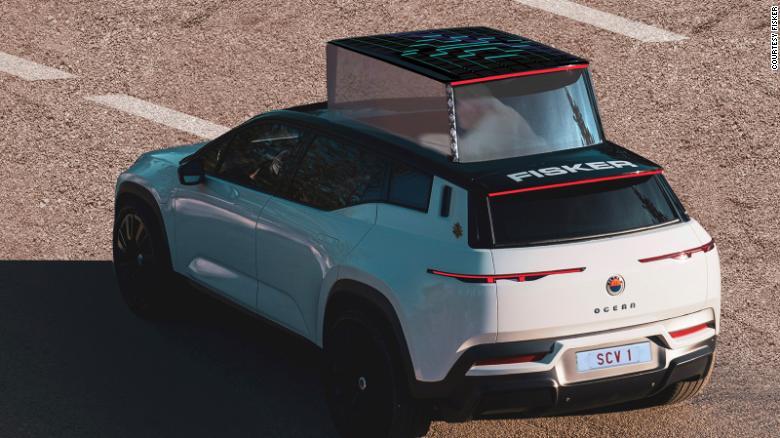 Spoločnosť Fisker plánuje dodávať svoj elektrický papamobil na budúci rok.