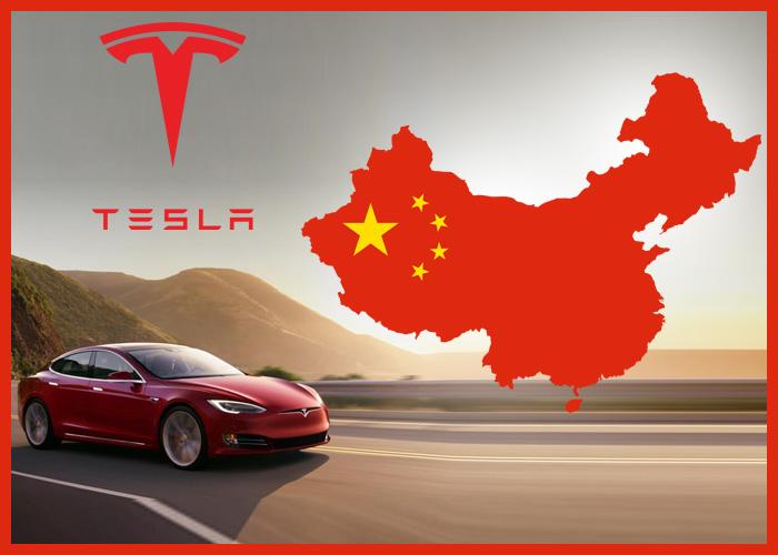 Aktivity spoločnosti Tesla v Číne.