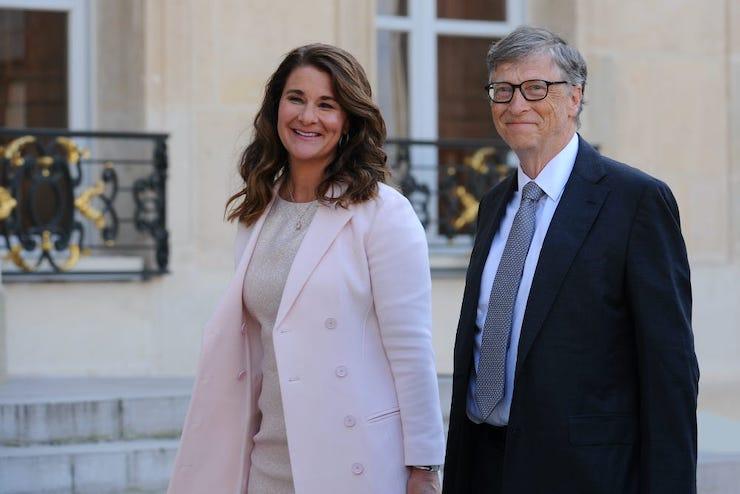 Bill Gates a Melinda Gates.
