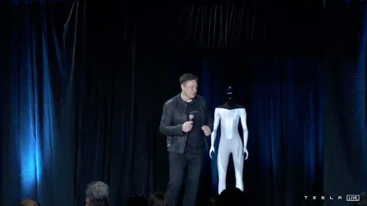 Tesla Bot.