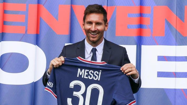 Lionele Messi v PSG.