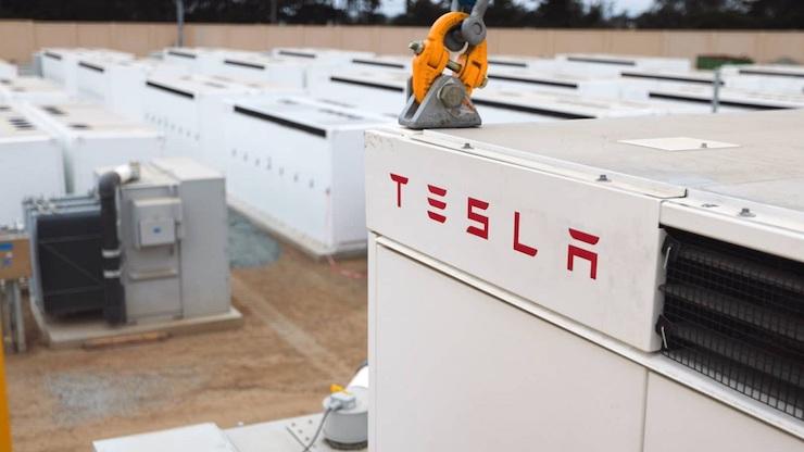 Batérie spoločnosti Tesla.