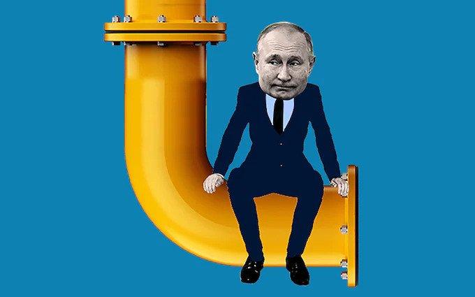 Európa v zajatí Ruska, cez zemný plyn.