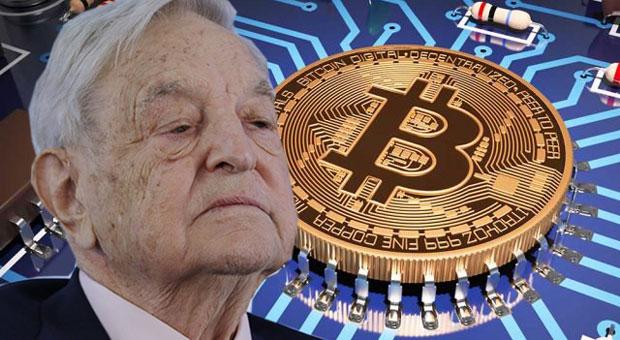 George Soros sa zameriava aj na Bitcoin.
