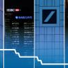 Niektoré z najväčších bánk na svete majú veľké problémy. Ako HSBC