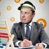 Elon Musk: Bitcoin sa zdá byť vysoko, po prekročení hodnoty 1 bilióna